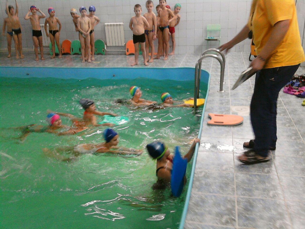 Конкурсы для бассейна